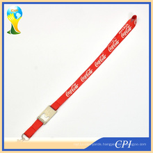 Red Lanyard with Bottle Opener Accessory